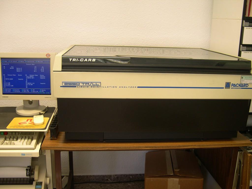 Detector de centelleo líquido de bajo fondo BERTHOLD LB-770-2