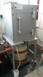 Equipo de espectrometría gamma Ge (HP) baja energía blindaje acero