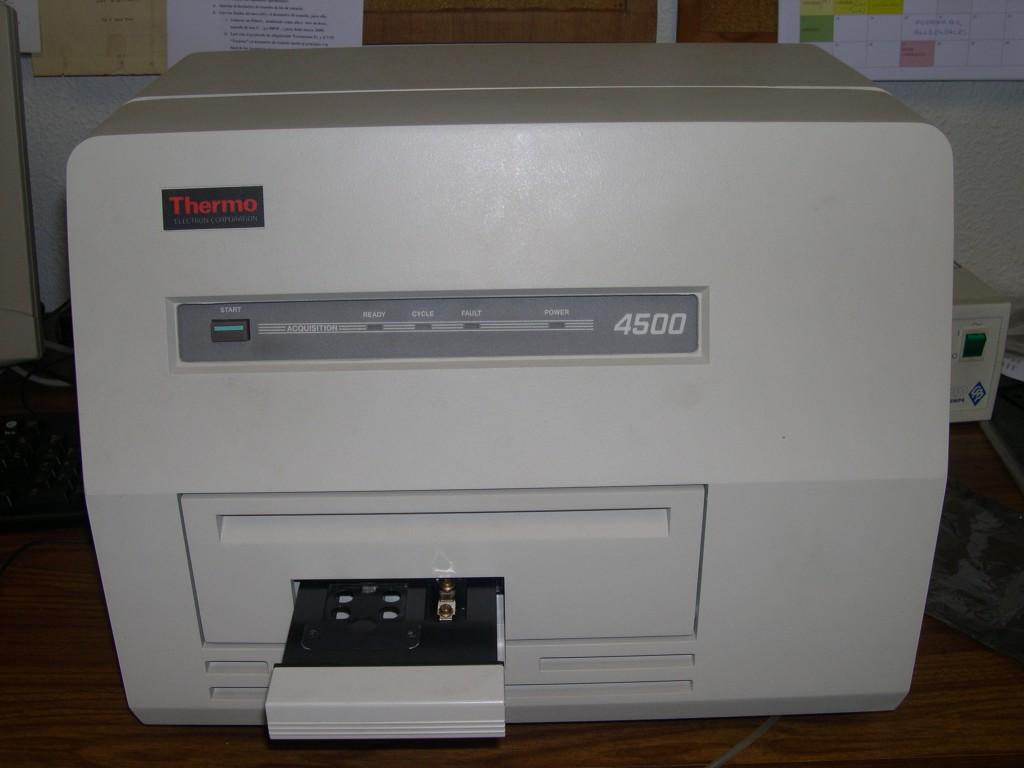 Lector de dosimetría por termoluminiscencia (TLD)